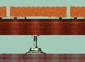 terrassen montage system. Black Bedroom Furniture Sets. Home Design Ideas