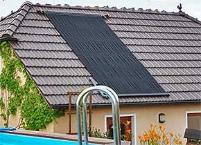 Schwimmbecken solarheizung rippenrohr absorber for Schwimmbecken kunststoff