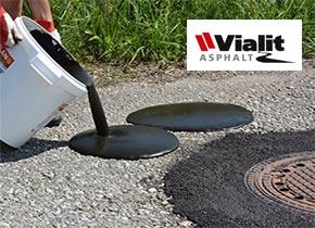 asphalt reparatur reparaturasphalt vialit ohne l sungsmittel. Black Bedroom Furniture Sets. Home Design Ideas