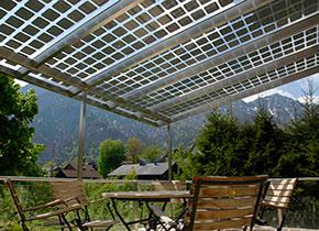 solar fassade und glasdach mit photovoltaik und sonnenschutz. Black Bedroom Furniture Sets. Home Design Ideas
