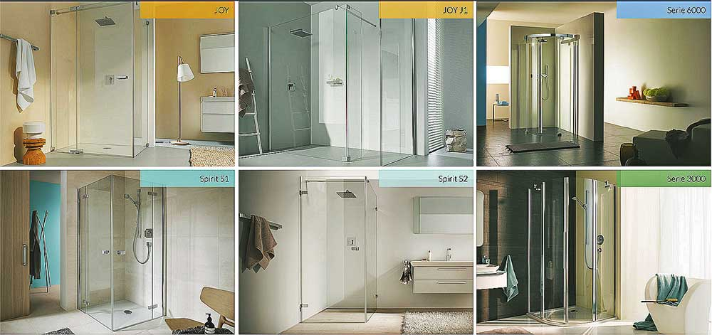 duschkabine und duschabtrennung aus glas baduscho. Black Bedroom Furniture Sets. Home Design Ideas