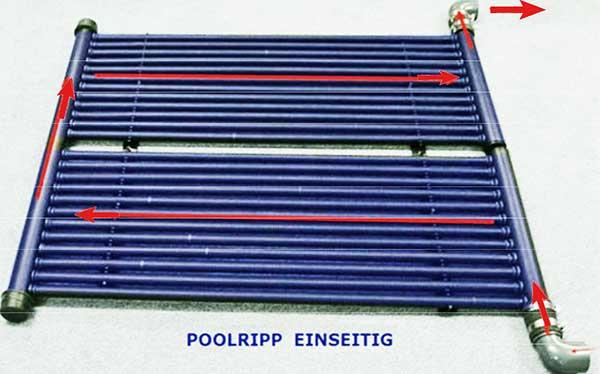 schwimmbecken solarheizung rippenrohr absorber. Black Bedroom Furniture Sets. Home Design Ideas