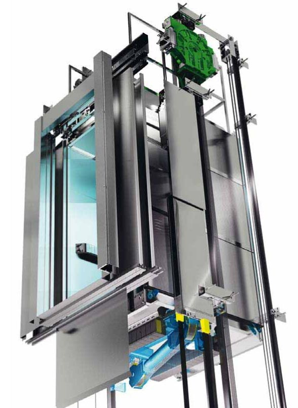 Aufzug Motor Ecodisc