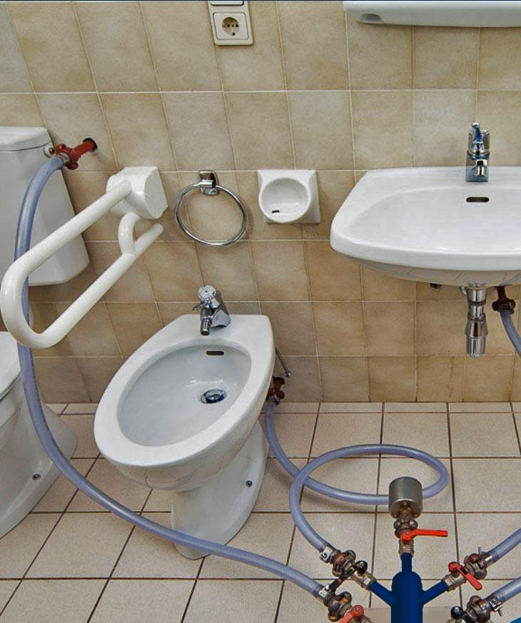 Favorit Wasserleitung sanieren ohne Aufstemmen BV51