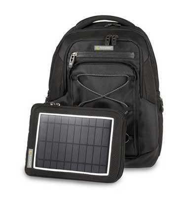 Flexibler Solar Rucksack Mobile Ladestation F 252 R Handy